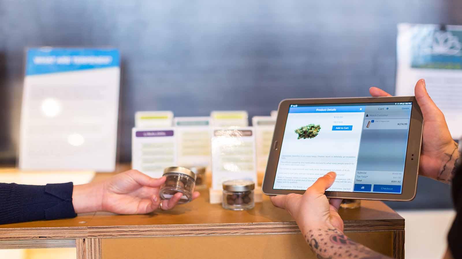 cannabis retail digital technology