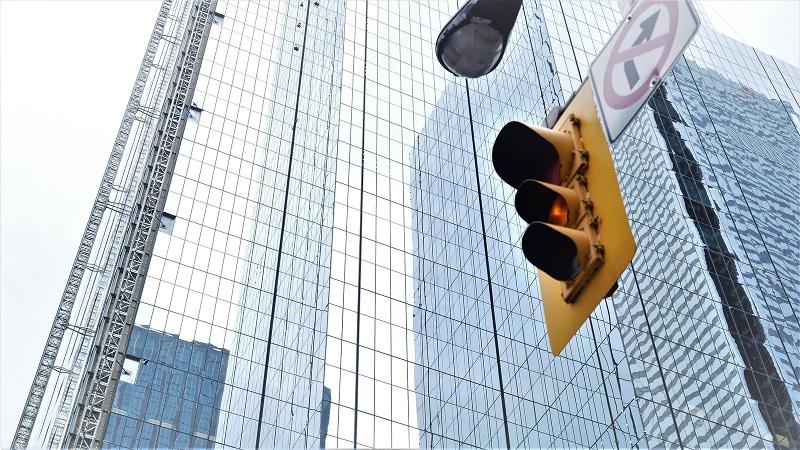 Toronto-Amber-Light