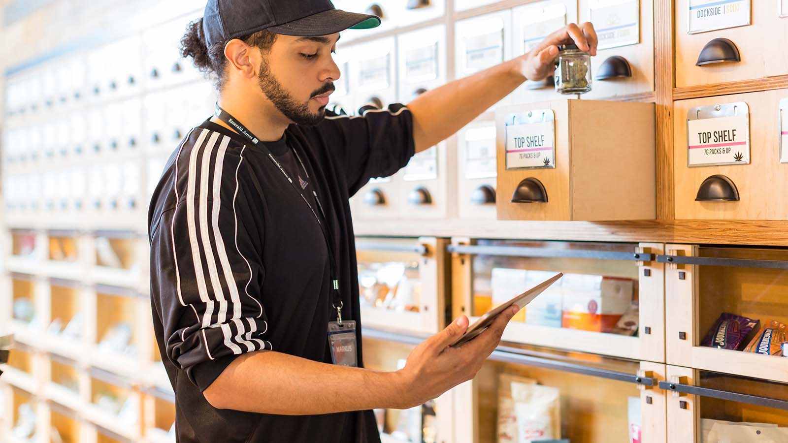 Cannabis Retail Inventory Manager