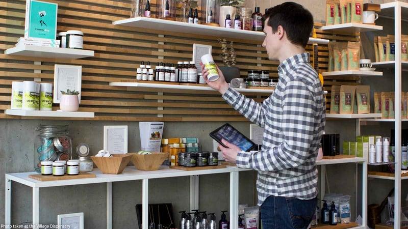 cannabis dispensary merchandising