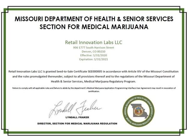 Missouri-STS-Certificate