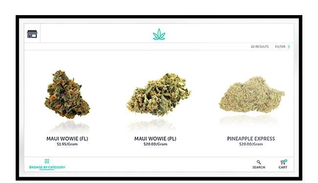 express checkout cannabis pos