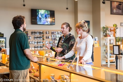 cannabis dispensary pos system targeted marketing