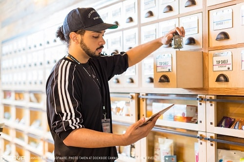 cannabis dispensary pos system inventory reporting