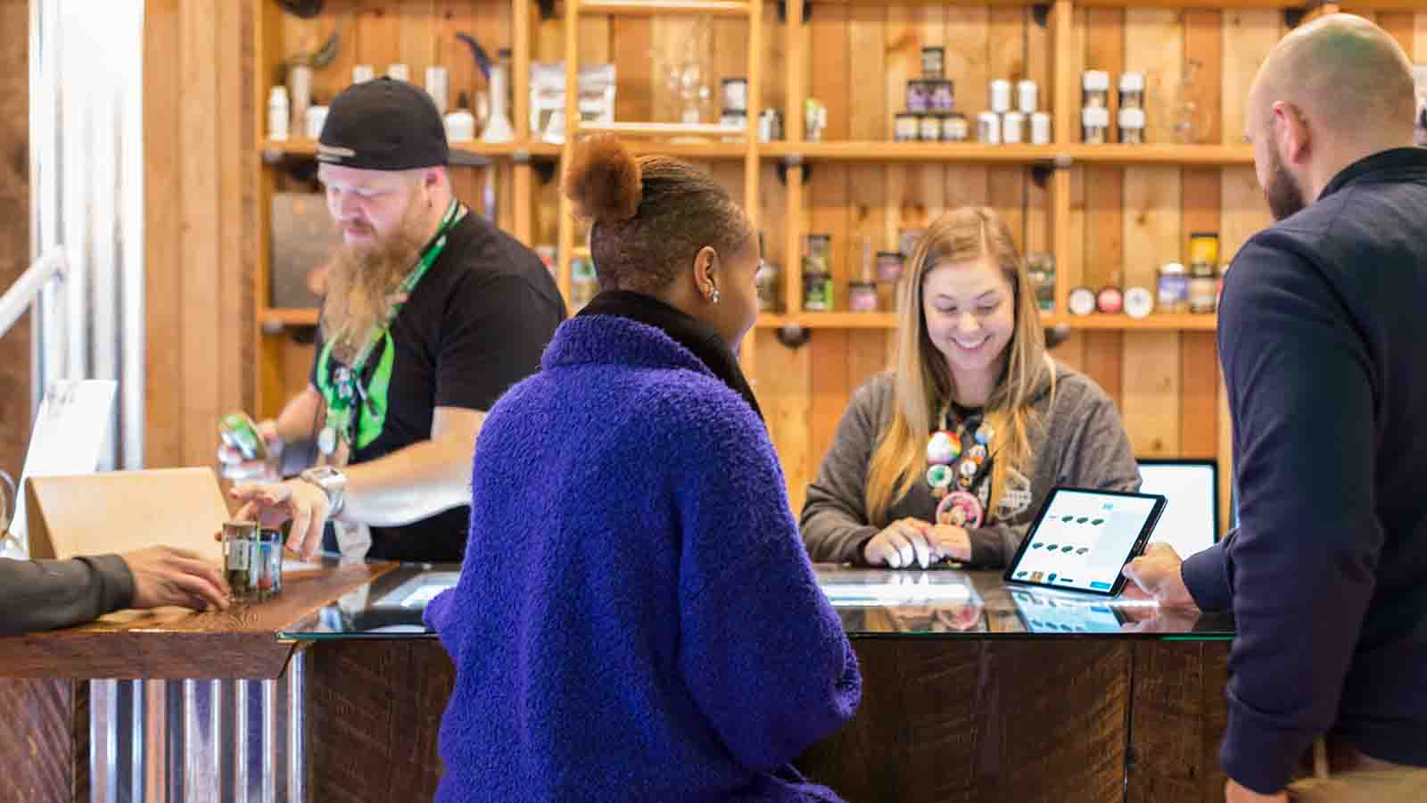cannabis retail pos with offline mode