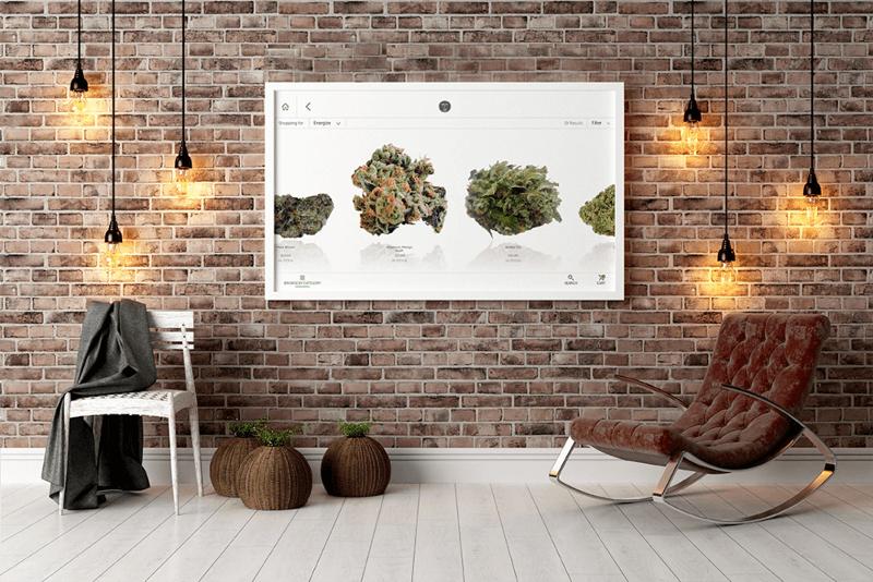 Cannabis Touchscreen Menus
