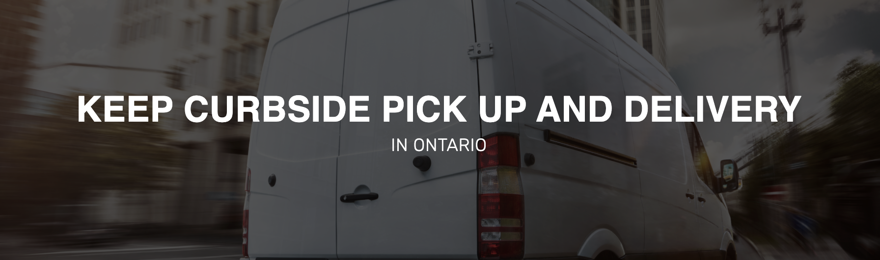 COVA | Keep Delivery and Curbside Pick Up in Ontario