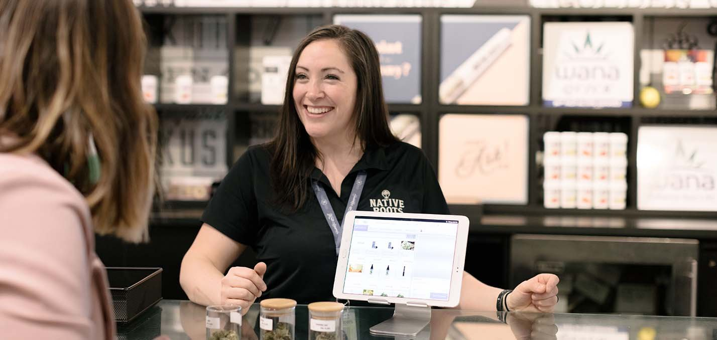 Cannabis retailers excellent customer service
