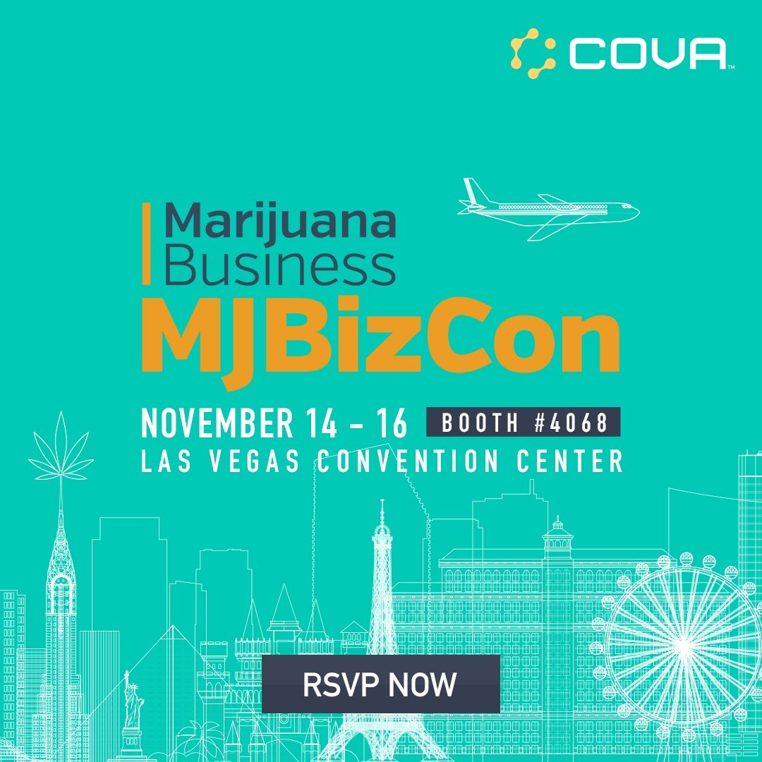 Cova at Cannabis & Hemp Expo 2018