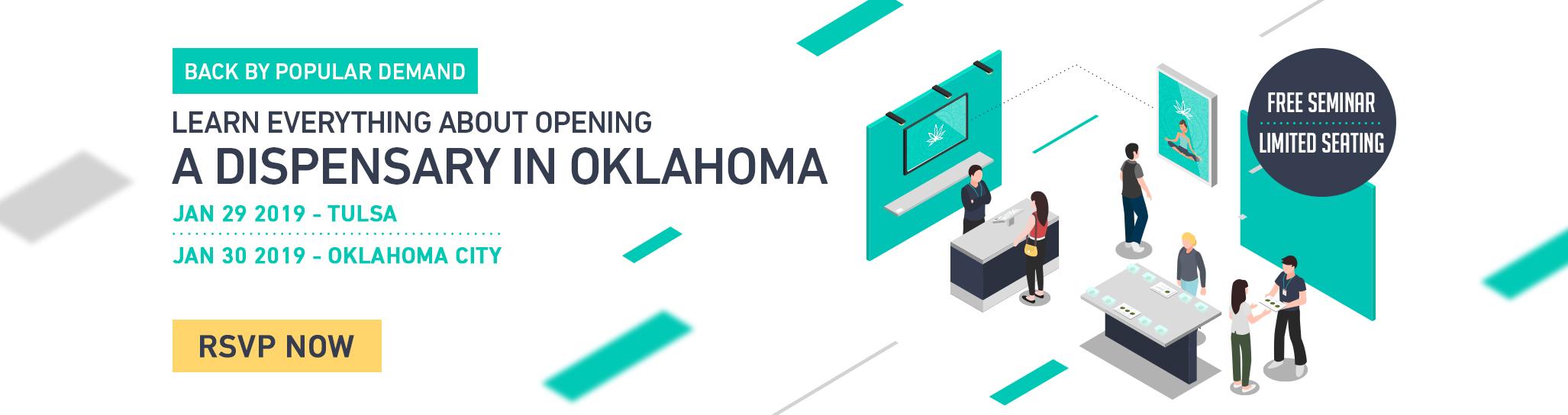 Cova Cannabis Dispensary Software Oklahoma Seminar