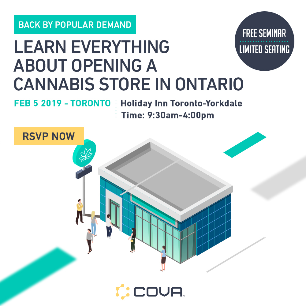 Cova | Cannabis Dispensary Software Ontario Seminar