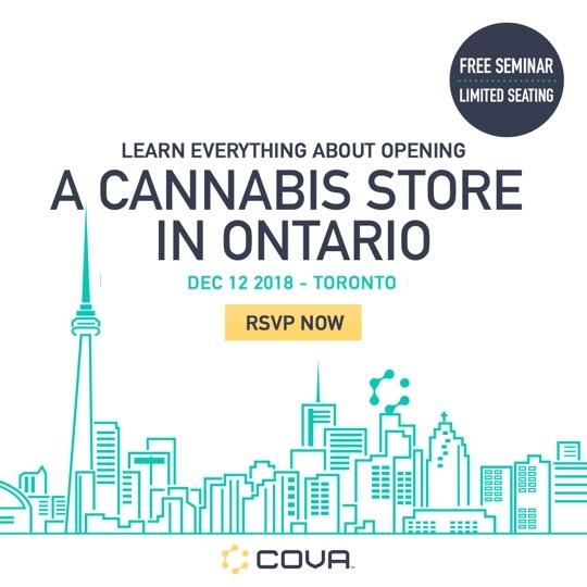 Cova | Cannabis Dispensary Software Ontario Seminar